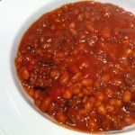Baked Bean Chili -- wonderfully satisfying on a cold night