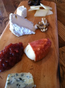 A selection of cheeses at Bistro Vivant (Photo Credit: Adroit Ideals)