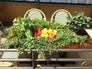 Fresh Produce at Bistro Vivant, McLean, Virginia (Photo Courtesy Bistro Vivant)