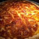 A Great Brunch Dish -- Brown Sugar Ham and Swiss Cheese Quiche