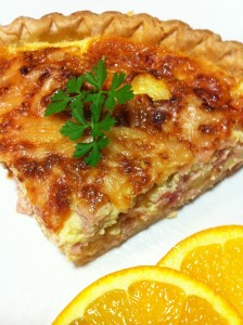 Just a slice of quiche for brunch will keep you satiated! (Photo Courtesy Adroit Ideals)