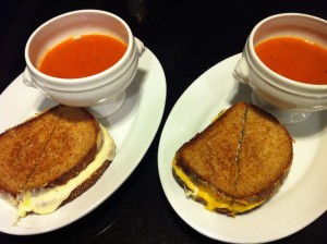 Grown-up Grilled Cheese and Tomato Basil Soup (Photo Credit: Adroit Ideals)