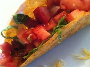 Chicken and Black Bean Taco (Photo Credit: Adroit Ideals)