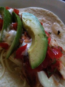 Chipotle Chicken Taco with Avocado (Photo Credit: Adroit Ideals)