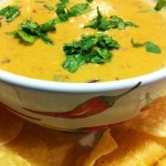 Chipotle Chile Con Queso with Tortilla Chips (Photo Credit: Adroit Ideals)