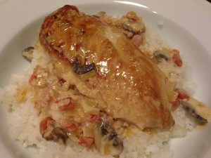 Dad's Chicken Napoleon (Photo Credit: Adroit Ideals)