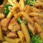 Honey Mustard Chicken with Broccoli and Penne Pasta (Photo Credit: Adroit Ideals)