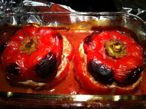 Mom's Stuffed Bell Peppers (Photo Credit: Adroit Ideals)