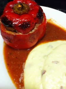 Stuffed Bell Peppers (Photo Credit: Adroit Ideals)