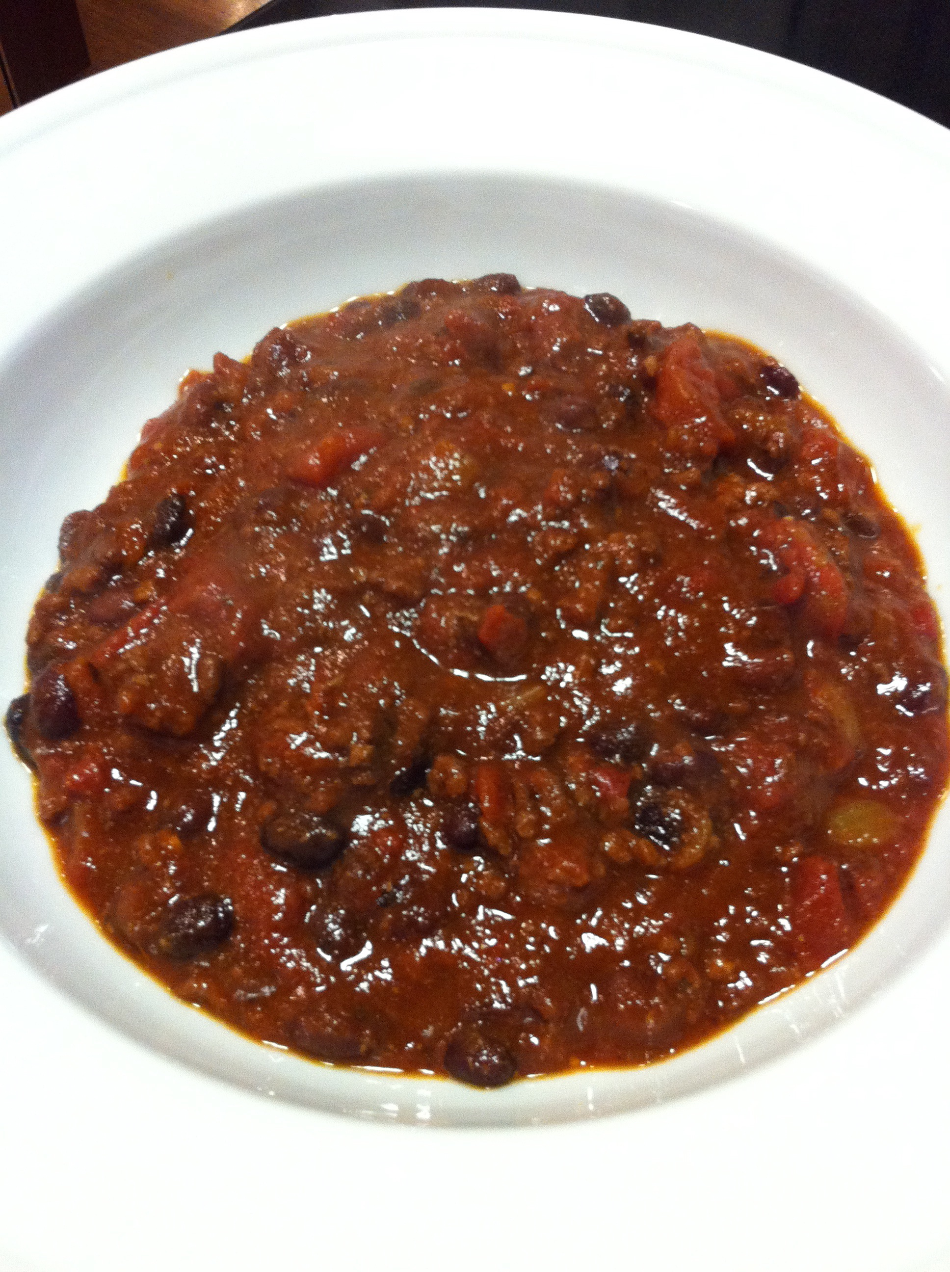 The Food Lover's Award-Winning Black Bean Chili (Photo Credit: Adroit Ideals)