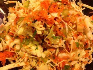 Creamy Coleslaw (Photo Credit: Adroit Ideals)