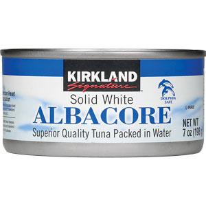 Kirkland Brand Tuna from Costco (Photo Credit: costco.com)