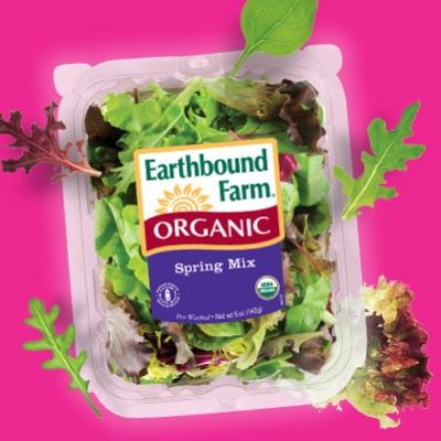 Earthbound Farm's Organic Salad Mixes (Photo Credit: ebfarm.com)