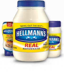 Hellmanns Mayonnaise (Photo Credit: hellmanns.com)