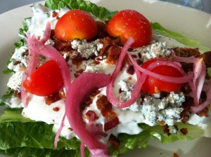Blue Cheese Wedge Salad at Northeast Seafood Kitchen (Photo Credit: Adroit Ideals)