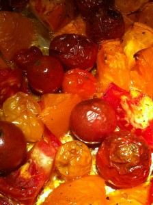 Roasted Cherry Tomatoes (Photo Credit: Adroit Ideals)