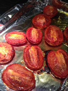 Roasted Pear-Shaped Tomatoes (Photo Credit: Adroit Ideals)