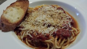 Garlic Toast is a great accompaniment to The Best Spaghetti with Meat Sauce (Photo Credit: Adroit Ideals)