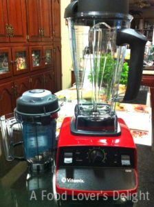 My Vitamix is one of my fave tools (Photo Credit: Adroit Ideals)