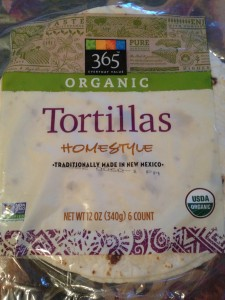 Whole Foods Market's Organic Homestyle Flour Tortillas (Photo Credit: Adroit Ideals)