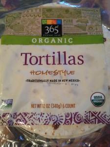 Whole Foods Market's Organic Homestyle Flour Tortillas (Photo Credit: Adroit Ideals)
