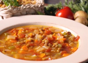 Vegetable Soup (Photo Credit: thebeautybean.com)