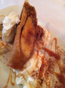 The Banana Crepe at Patsy's Restaurant (Photo Credit: Adroit Ideals)