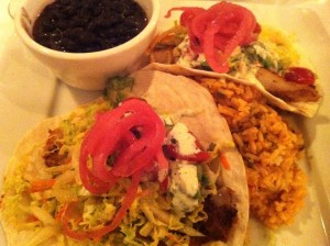 Fabulous Blackened Fish Tacos at Patsy's Restaurant (Photo Credit: Adroit Ideals)