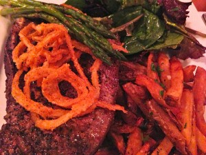 The Butcher's Steak at Patsy's -- cooked to your preference (Photo Credit: Adroit Ideals)