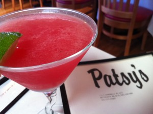 The Cosmpolitan Martini at Patsy's Restaurant (Photo Credit: Adroit Ideals)
