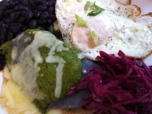 Summer Brunch at Patsy's Restaurant includes Chili Verde Enchiladas (Photo Credit: Adroit Ideals)