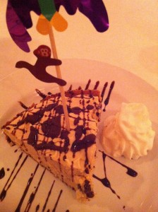 Creamy sinful Peanut Butter Pie for The Food Lover's birthday at Patsy's Restaurant (Photo Credit: Adroit Ideals)