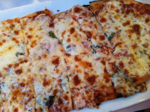 Pizza Margherita at Patsy's Restaurant. Great with a glass of red wine. (Photo Credit: Adroit Ideals)