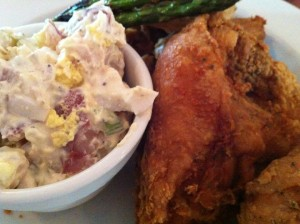 The Southern Fried Chicken Special at Patsy's Restaurant (Photo Credit: Adroit Ideals)