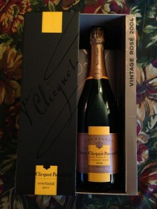 Veuve Cliquot Vintage Rose 2004 Champagne (Photo Credit: Adroit Ideals)
