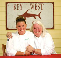 Robin Rankin and Patsy Dill Rankin of Patsy's Restaurant in Bethany Beach, DE (Photo Credit: Patsy's Restaurant)
