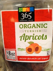 Whole Foods Market's Organic Turkish Apricots (Photo Credit: Adroit Ideals)