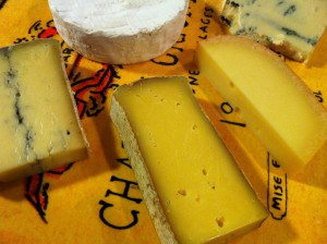 Assorted cheese platter (Photo Credit: Adroit Ideals)