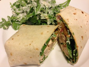 Smoked Chicken Wrap!  (Photo Credit: Adroit Ideals)
