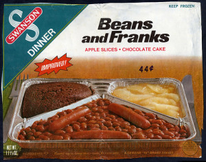 Beans and Franks TV dinner by Swanson (Photo Credit:  Flickr.com)