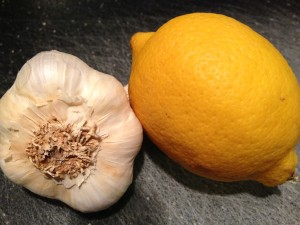Garlic and Lemon are key flavors that go well together (Photo Credit: Adroit Ideals)