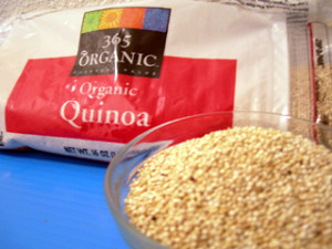 Whole Foods Market 365 brand organic Quinoa (Photo Credit: netfoodie.com)