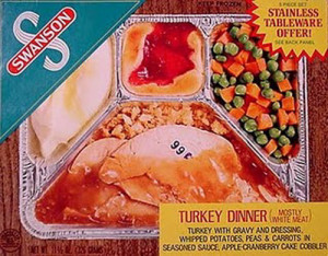 Swanson Turkey Dinner (Photo Credit: Itthing.com)