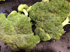 Fresh Broccoli -- one of my husband's favorite foods  (Photo Credit: Adroit Ideals)