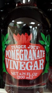 Trader Joe's Pomegranate Vinegar (Photo Credit: Adroit Ideals)
