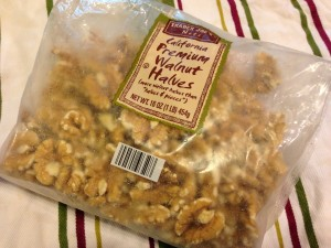 Trader Joe's Walnuts -- I keep most of my nuts in the freezer for better longevity (Photo Credit: Adroit Ideals)