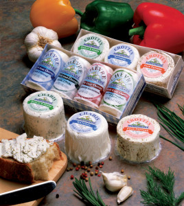 MontChevre Goat Cheese assortment (Photo Credit: montchevre.com)