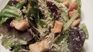 Baby Romaine Caesar Salad with Croutons (Photo Credit: Adroit Ideals)