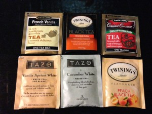 A selection of flavored teas (Photo Credit: Adroit Ideals)