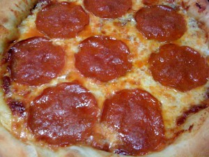 Pepperoni Pizza with Extra Cheese!   (Photo Credit: Adroit Ideals)